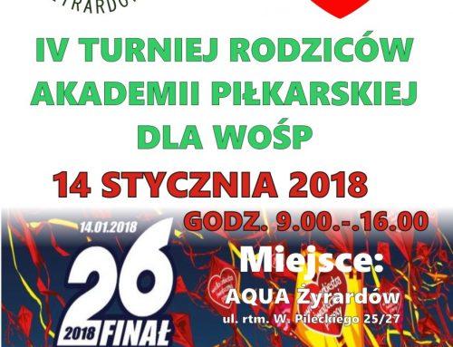 IV Turniej Rodziców Akademii Piłkarskiej dla WOŚP