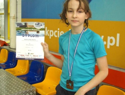 Dwa medale pływaków Stowarzyszenia AQUA Żyrardów