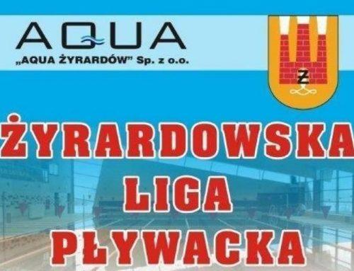 Żyrardowska Liga Pływacka – Finał wyniki