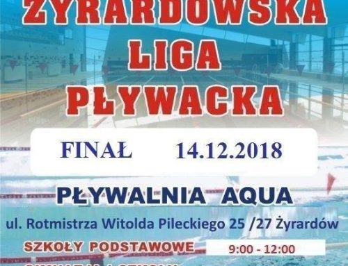 Żyrardowska Liga Pływacka – Finał