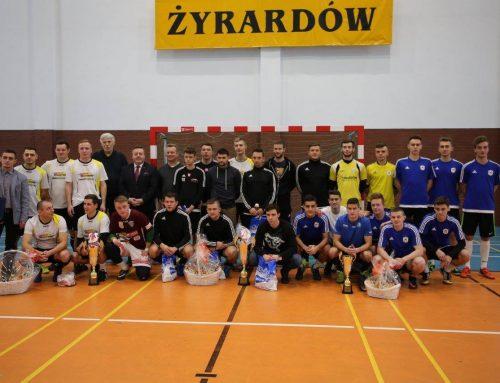 Zakończyły się rozgrywki Żyrardowskiej Halowej Ligi Piłki Nożnej