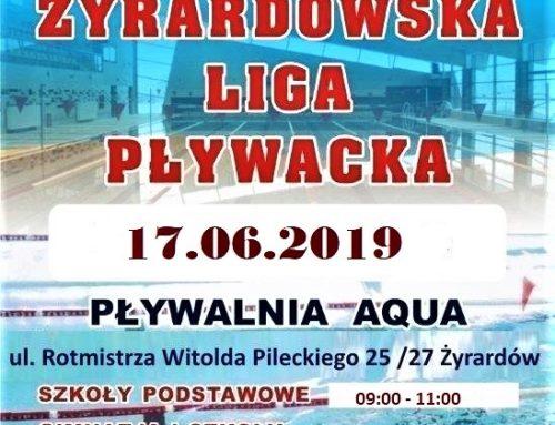 ŻYRARDOWSKA LIGA PŁYWACKA 17.06.2019