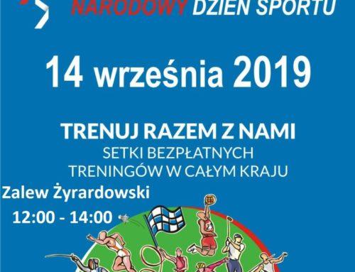 Narodowy Dzień Sportu nad Zalewem Żyrardowskim