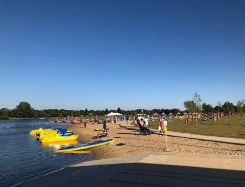 Otwarcie kąpieliska na Zalewem Żyrardowskim