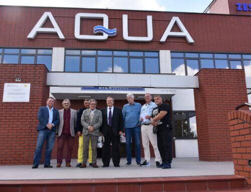 Zarząd Warszawsko-Mazowieckiego Okręgowego Związku Bokserskiego w AQUA ŻYRARDÓW